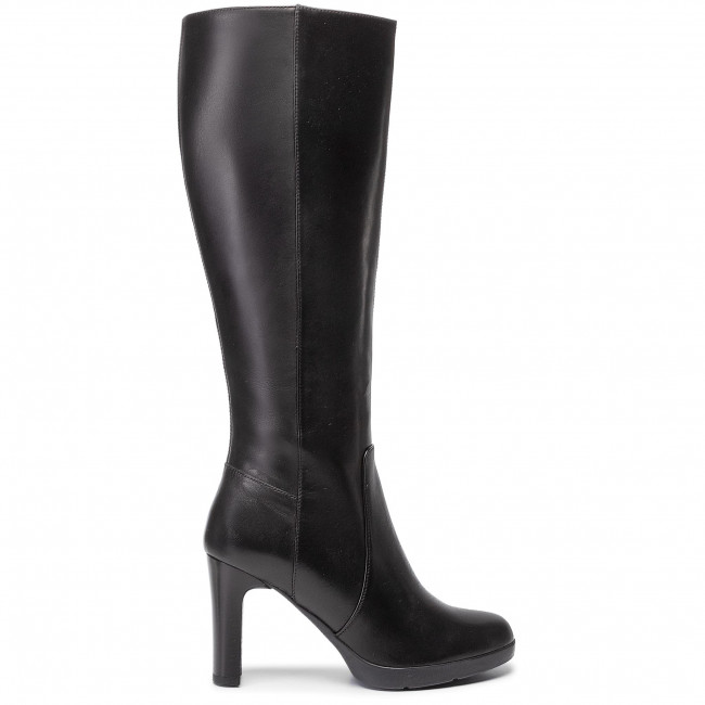 Knee High Boots Geox - D Annya H. E D94aee 00043 C9999 Black Jackboots And Others Women's Shoes