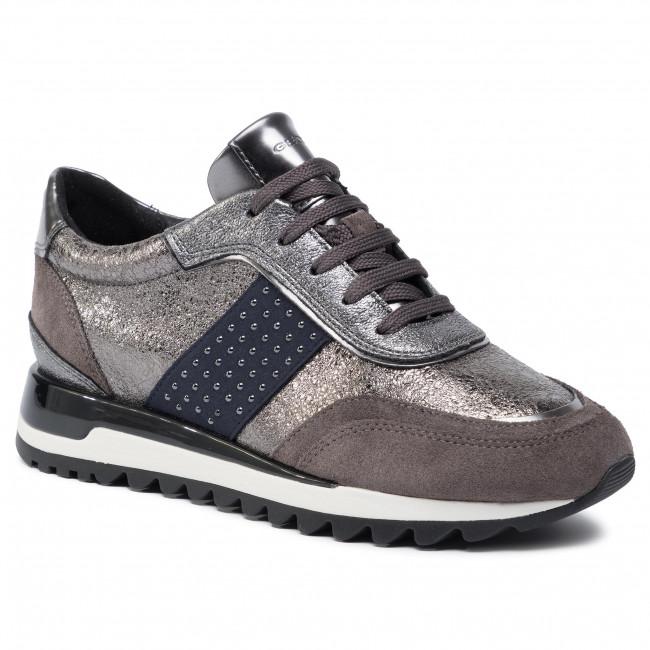 gama muy codiciada de gran descuento para Venta de descuento 2019 Sneakers GEOX - D Tabelya A D94AQA 0VIBN C9H6J Lead/Chestnut ...