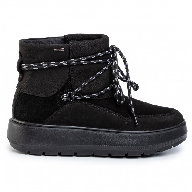 cansado portón Nube  Boots GEOX - D Kaula B Abx B D94AWB 07622 C9999 Black - Boots - High boots  and others - Women's shoes | efootwear.eu