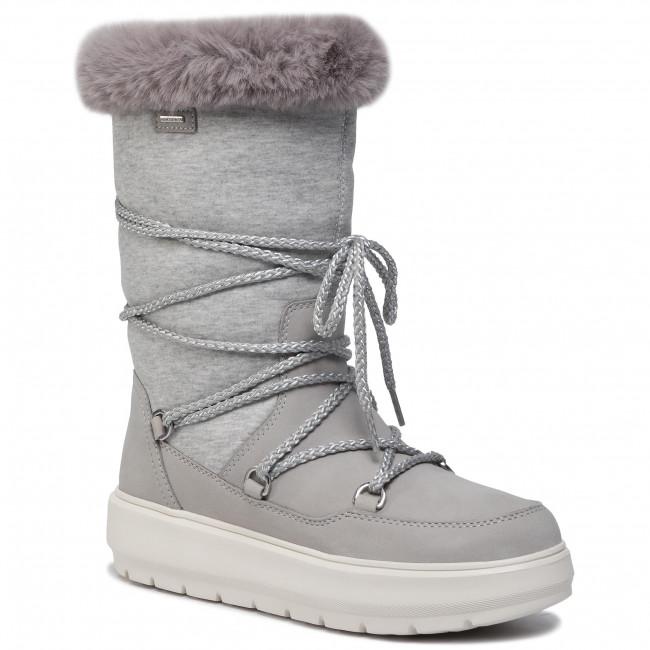 Imaginativo Nuez podar  Snow Boots GEOX - D Kaula B Abx C D94AWC 032GH C1037 Lt Grey/Dk Grey -  Winter boots - High boots and others - Women's shoes | efootwear.eu