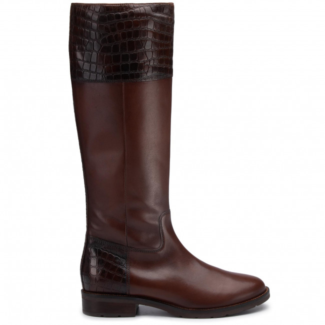 Knee High Boots GEOX D Bettanie E D94ETE 0436Y C0013 Brown