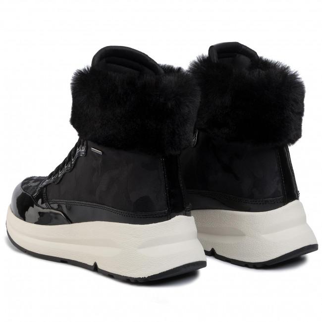 Sneakers GEOX D Backsie B Abx A D94FPA 0FUHH C9999 Black