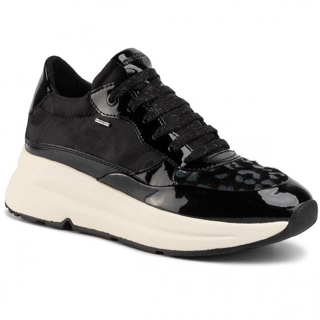 Sneakers GEOX D Backsie B Abx B D94FPB 0FUHH C9999 Black