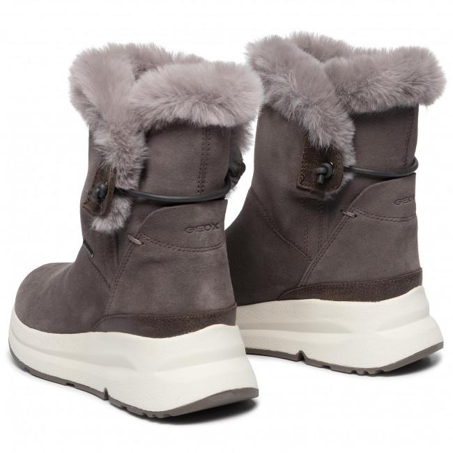 Boots GEOX D Backsie B Abx C D94FPC 02246 C6004 Chestnut