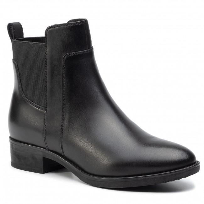 álbum de recortes pobreza flor  Boots GEOX - D Felicity G D94G1G 00043 C9999 Black - Boots - High boots and  others - Women's shoes   efootwear.eu