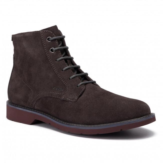 Melodioso Resbaladizo bosque  Boots GEOX - U Garret B U94L9B 00022 C6446 Mud/Bordeaux - Boots - High  boots and others - Men's shoes | efootwear.eu