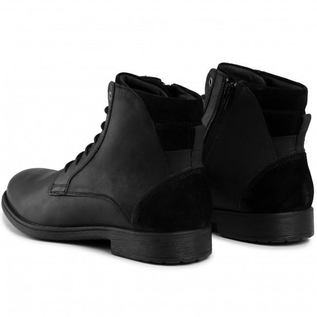 A fondo camioneta fumar  Boots GEOX - U Jaylon E U94Y7E 04322 C9999 Black - Boots - High boots and  others - Men's shoes | efootwear.eu