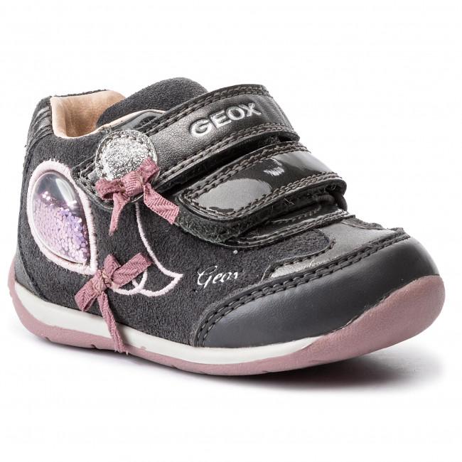 6111432560 Sneakers GEOX - B Each G. A-B940AA 02285 C0952 Dk Grey/Pink