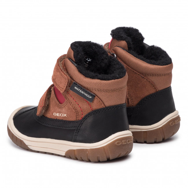 Snow Boots GEOX B Omar B.Wpf B B942DB 022FU C6270 M BrownDk Red