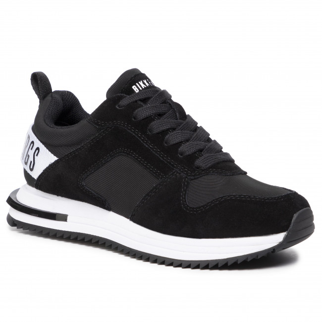 Trainers BIKKEMBERGS - Low Top Lace Up B4BKW0040 Black