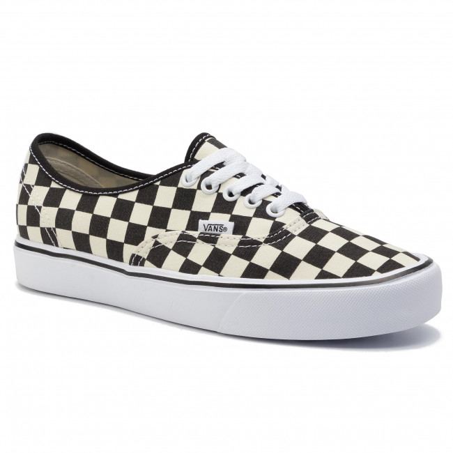 Plimsolls VANS Authentic Lite (C) VN0A2Z5J5GX (Checkerboard) BlackWhite