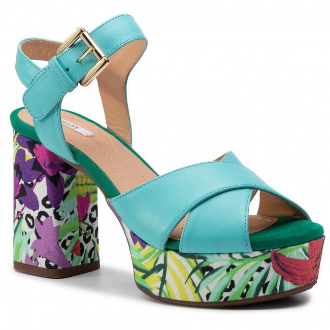 Sandals GEOX D Galene C D828WC 00085 C4015 Turquoise