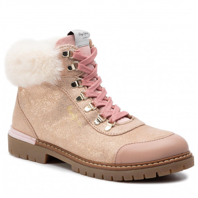Hiking Boots PEPE JEANS - Combat Mountain PGS50141 Powder Rose 318