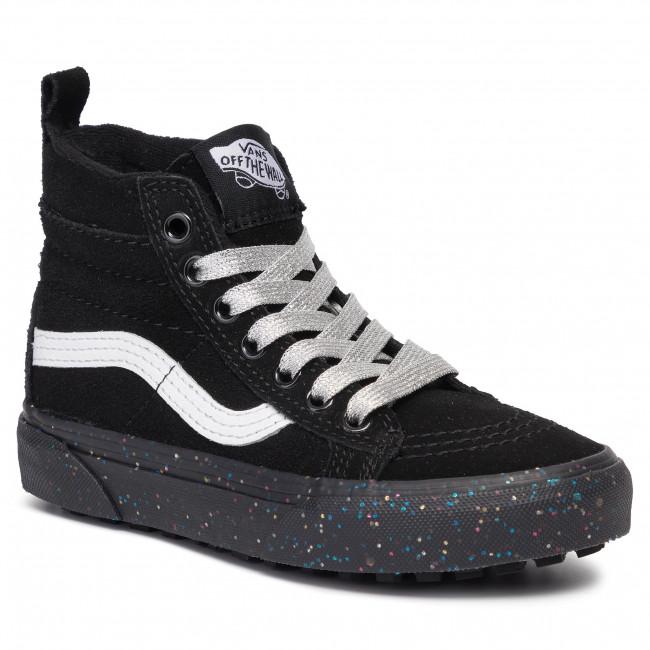 Sneakers VANS - SK8-Hi Mte VN0A2XSNV3S1 (Mte) Glitter Sidewall/Blk