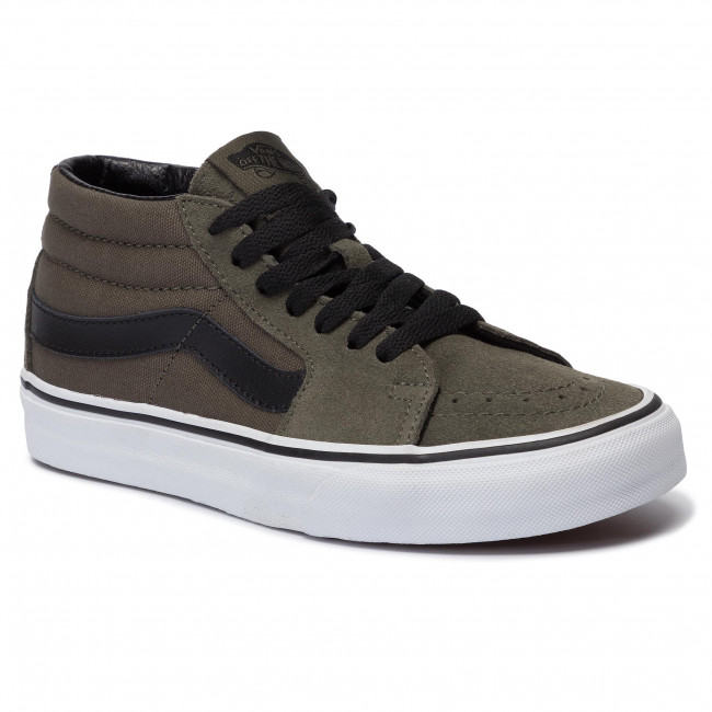 Sneakers VANS - Sk8-Mid VN0A3WM30FI1 Grape Leaf/True White