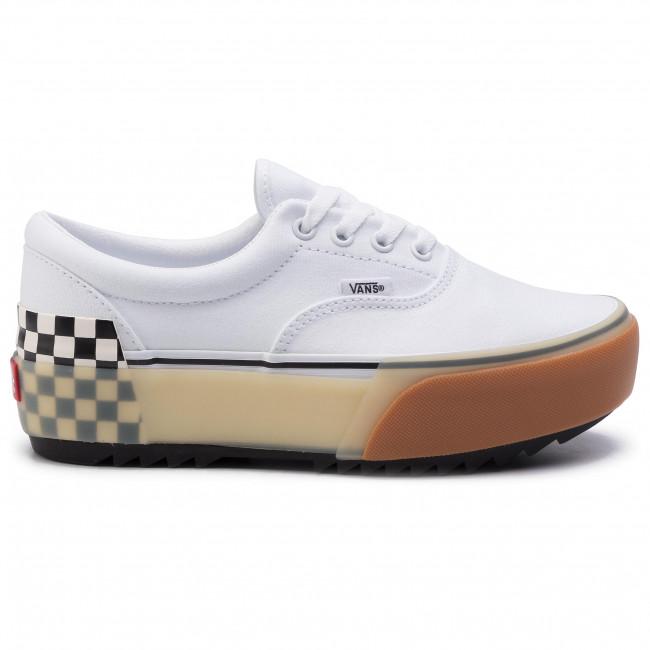 Plimsolls VANS - Era Stacked VN0A4BTOTDC1 White/Checkerboard