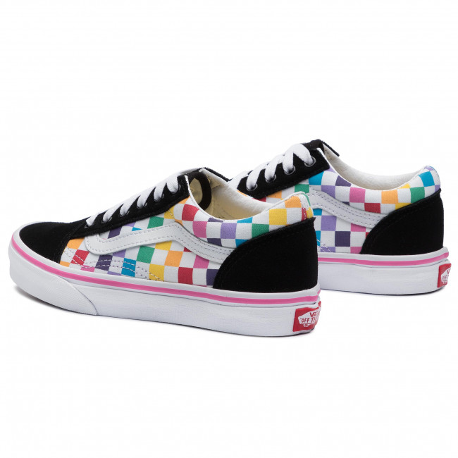 Plimsolls VANS Old Skool VN0A4BUUU091 (Checkerboard) RainbowTr