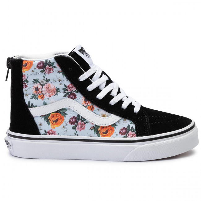 Sneakers VANS Sk8 Hi Zip VN0A4BUXV3F1 (Garden Floral) True Wht