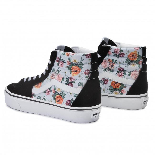 Sneakers VANS Sk8 Hi VN0A4BV6V3F1 (Garden Floral) True Wht