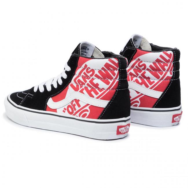 Sneakers VANS Sk8 Hi VN0A4BV6V3T1 (Otw Quarter) Hiscblktrwht