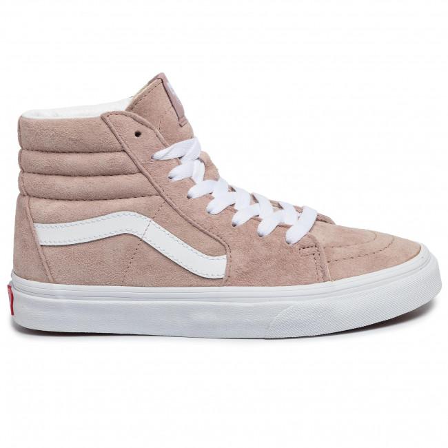 Sneakers VANS Sk8 Hi VN0A4BV6V791 (Pig Suede)Shdw GryTrwht