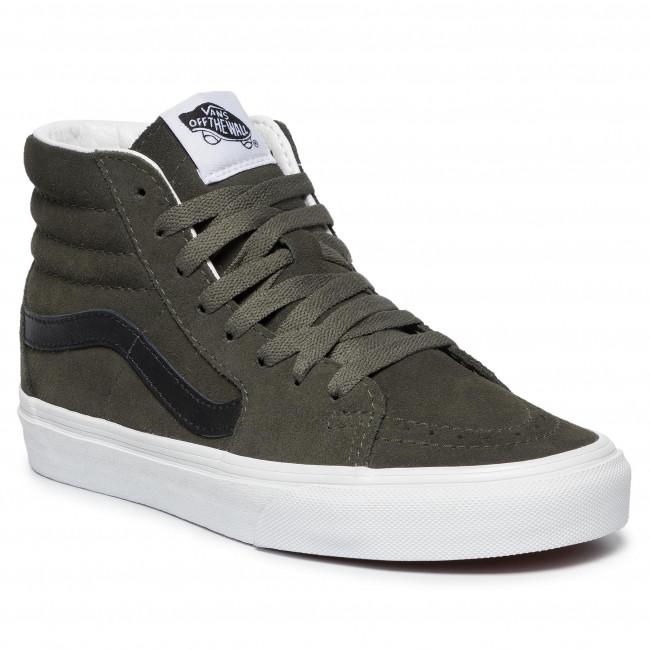 Sneakers VANS Sk8 Hi VN0A4BV6XKD1 (Suede) Forest NightTrwht