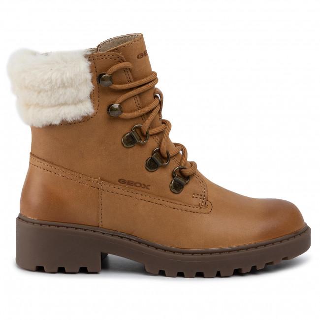 näher an detaillierter Blick Großhandelsverkauf Hiking Boots GEOX - J Casey G.H J9420H 000CL C5046 S Biscuit