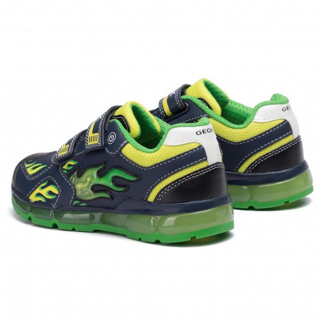 no pueden ver James Dyson Regresa  Sneakers GEOX - J Android B. C J9444C 054CE C0749 S Navy/Lime - Velcro -  Low shoes - Boy - Kids' shoes   efootwear.eu