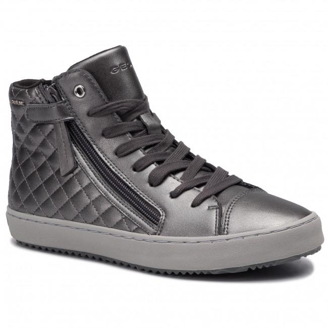Sneakers GEOX - J Kalispera G. D J944GD 000NF C9002 D Dk Grey
