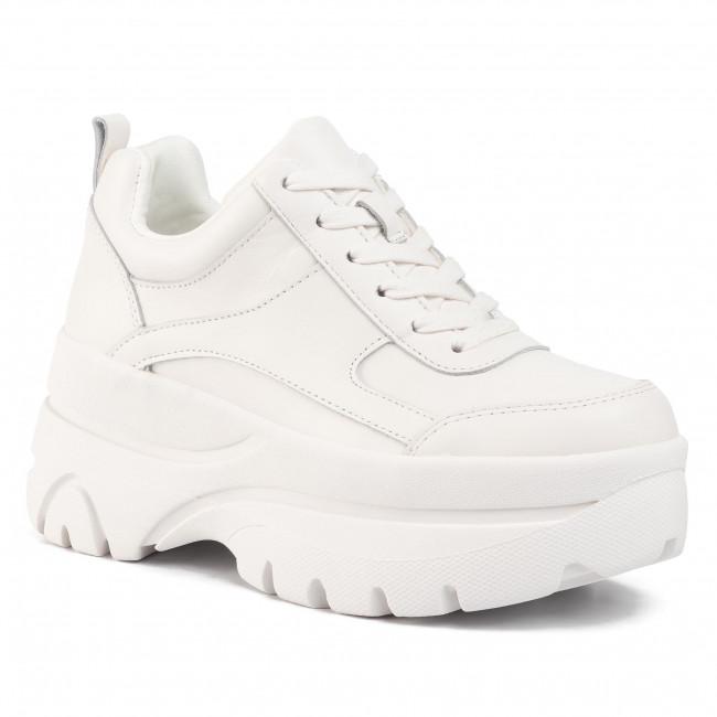 steve madden white leather