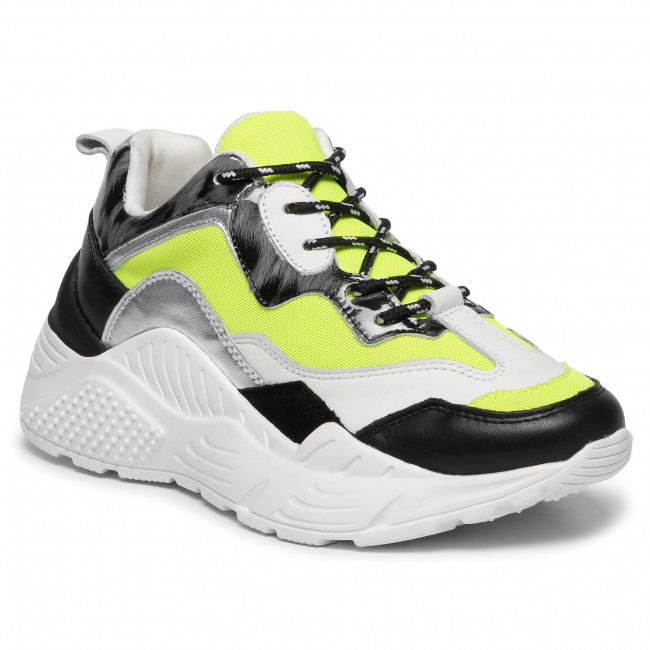 Sneakers STEVE MADDEN Antonia SM11000745 04005 NYL Neon Yellow