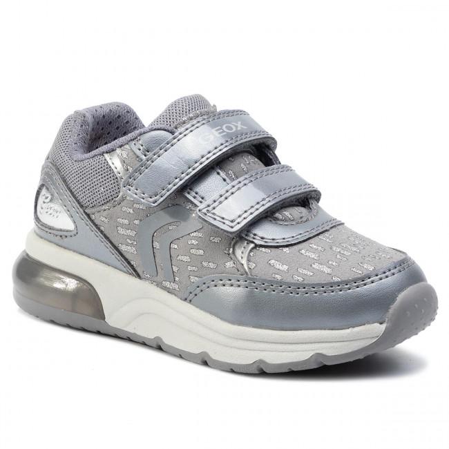 Sneakers GEOX J Spaceclub G.B J948VB 0DHAJ C9002 M Dk Grey FsqOc