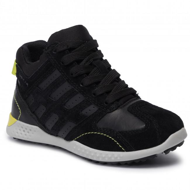 konkurrenzfähiger Preis Super günstig Großbritannien Sneakers GEOX - J Snake.2 B. B J94ABB 022CL C9999 S Black