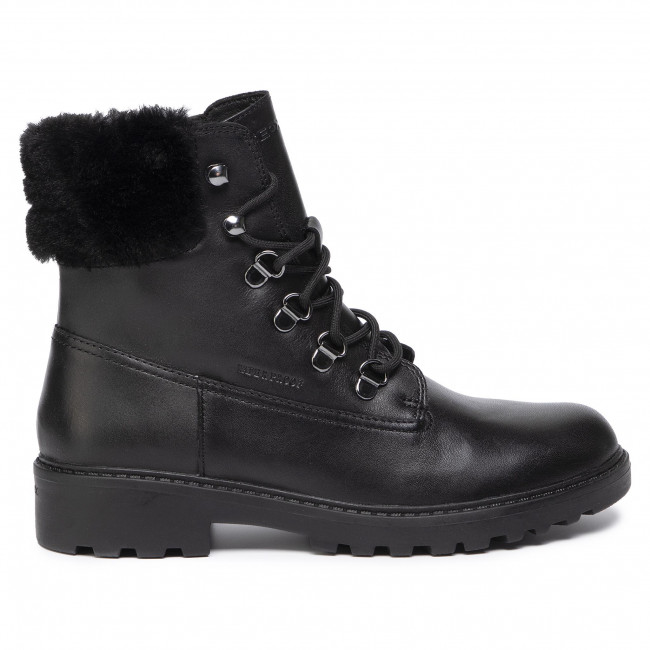 Boots Geox - J Casey G. Wpf C J94afc 00043 C9999 D Black High And Others Women's Shoes