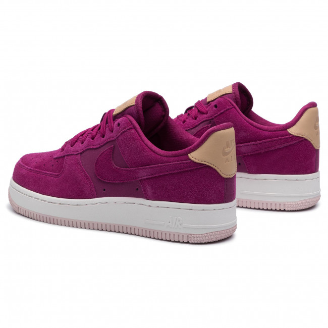 NIKE AIR FORCE 1 '07 PRM 896185 602 TRUE BERRY WHITE