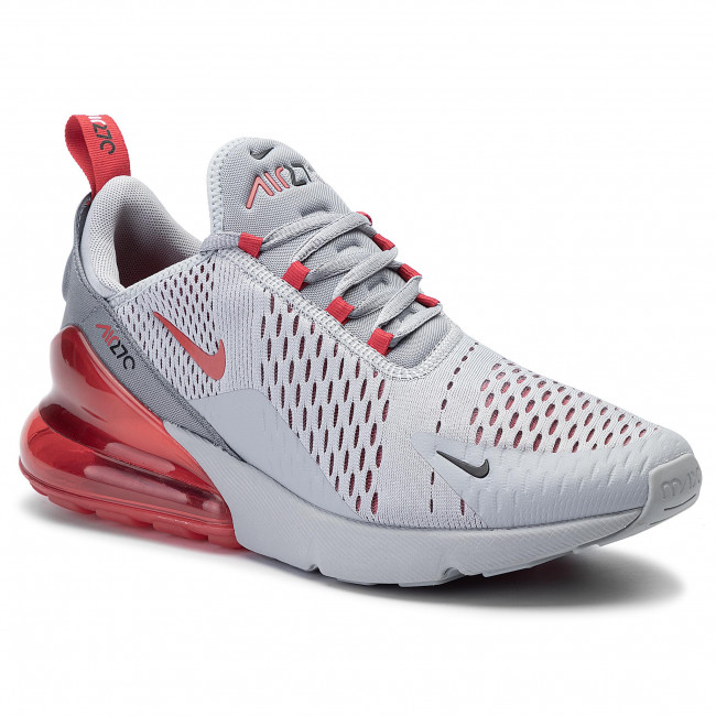Shoes NIKE Air Max 270 AH8050 018 Wolf GreyUniversity Red