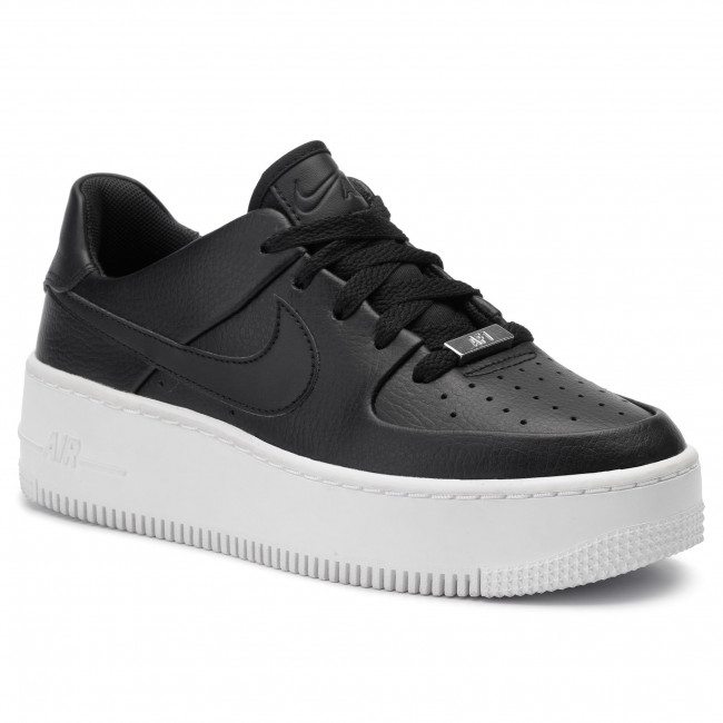 Shoes NIKE - Af1 Sage Low AR5339 002 Black/Black/White