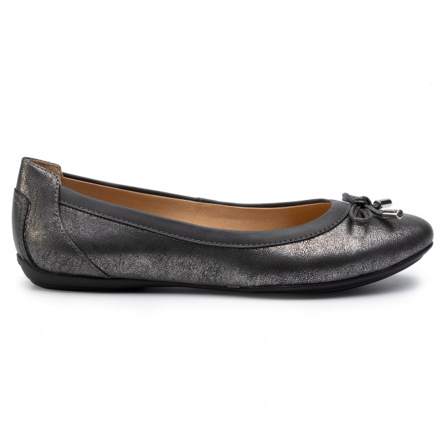 Geox patent leather faux reptile flats