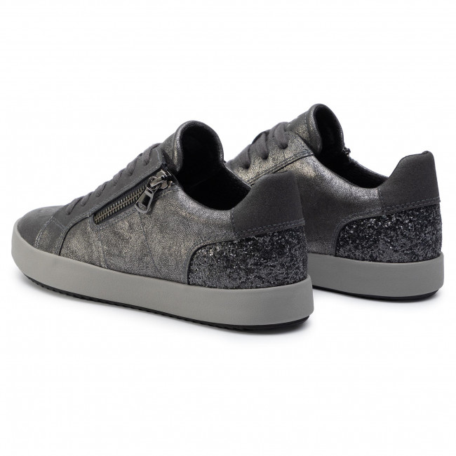 Medición Permuta Cabeza  Sneakers GEOX - D Blomiee A D946HA 0PVEW C9004 Anthracite - Sneakers - Low  shoes - Women's shoes | efootwear.eu