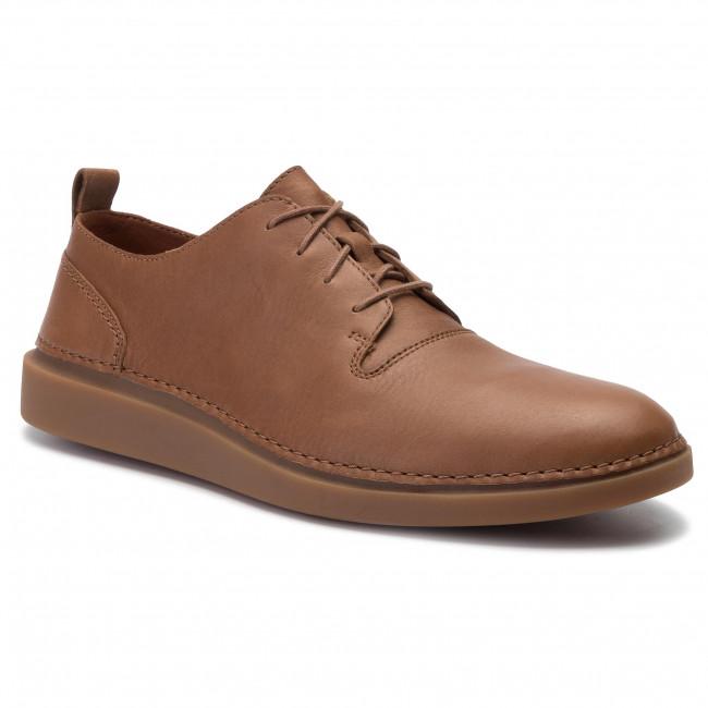 Shoes CLARKS - Hale Lace 261393487 Tan