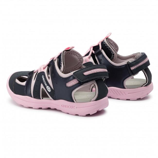 Sandals GEOX J Vaniett G. C J926AC 05015 CF48T S NavyLt Pink