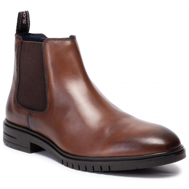new product 30b7d 4904d Ankle Boots S.OLIVER - 5-15302-23 Cognac 305