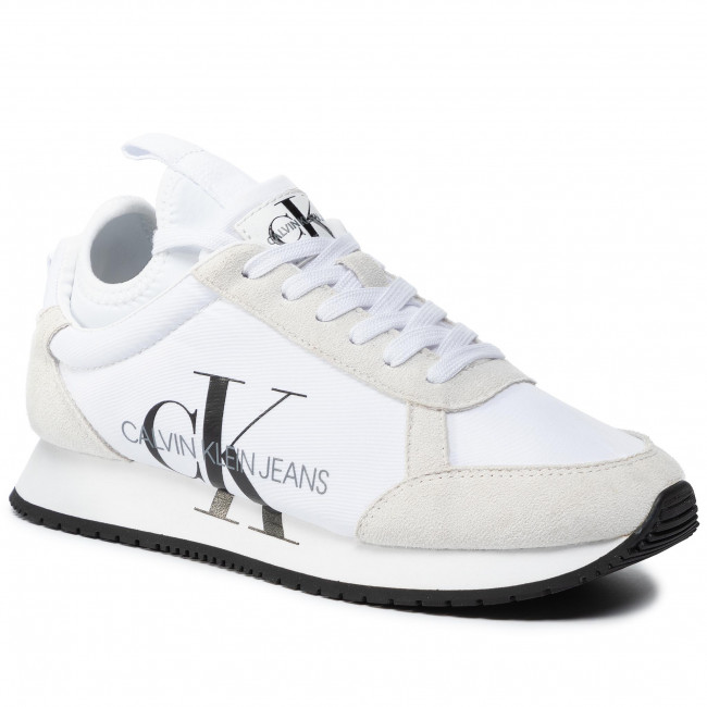 Sneakers Calvin Klein Jeans Josslyn B4R0825 White Calvin Klein Velcro Shoes
