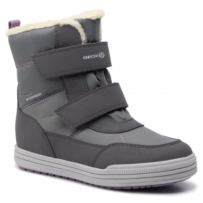 Snow Boots GEOX J Zorian G.B Wpf A J744TA 050FU C9002 S Dk Grey