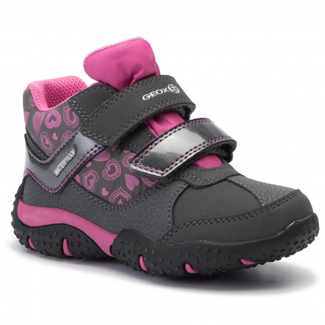 Bisagra esta Amplificar  Boots GEOX - J Baltic G.B Wpf B J942VB 0FUCE C9325 M Dk Grey/Fuchsia -  Boots - High boots and others - Girl - Kids' shoes | efootwear.eu
