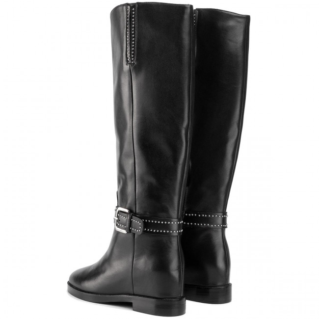 Knee High Boots BRUNO PREMI Vitello BY7205X Nero