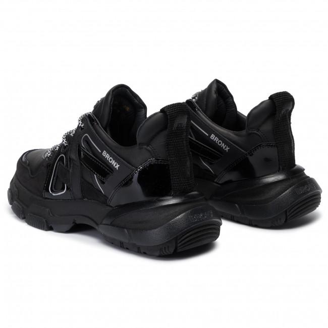 bronx black trainers