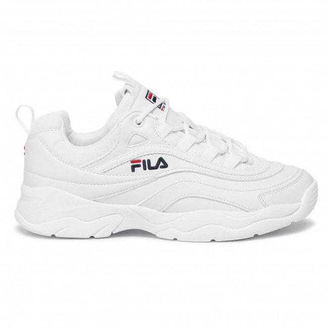 Sneakers FILA - Ray Low 1010561.1FG White - Sneakers - Low ...