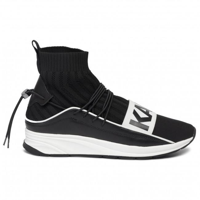 Sneakers KARL LAGERFELD KL51160 Black LthrTextile w White
