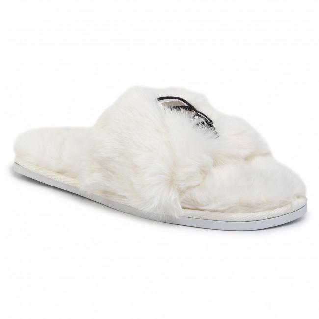 Slippers KARL LAGERFELD KL49001 Off White Wool